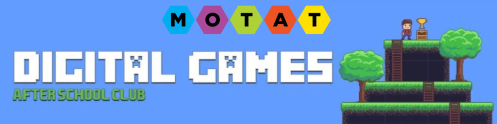 MOTAT Digital Games Club and Online Classes